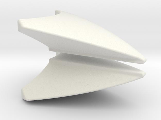 Fender Convex LH/RH  in White Natural Versatile Plastic
