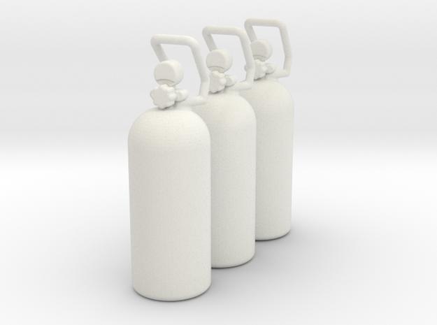 Co2 Tank (3) - Venom Designs in White Natural Versatile Plastic