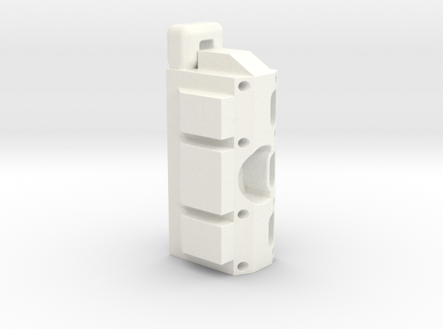ESB FT Base Block in White Processed Versatile Plastic