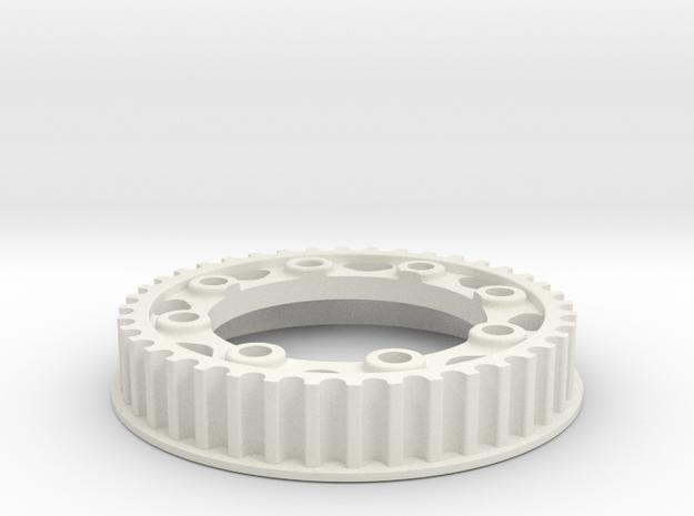 PULLEY 40T NUOVA FAOR T15 / EVO in White Natural Versatile Plastic
