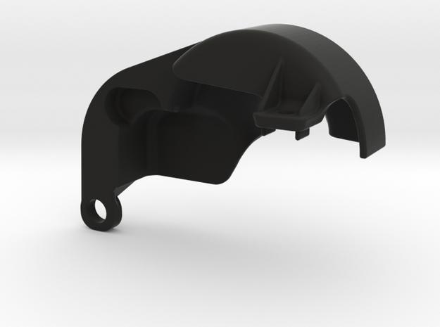 RB6 GEAR COVER  Yokomo Motor Plate in Black Natural Versatile Plastic