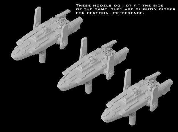 (Armada) 3x GX1 Short Hauler