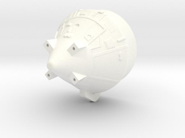 1:100 Scale Apollo BPS in White Processed Versatile Plastic