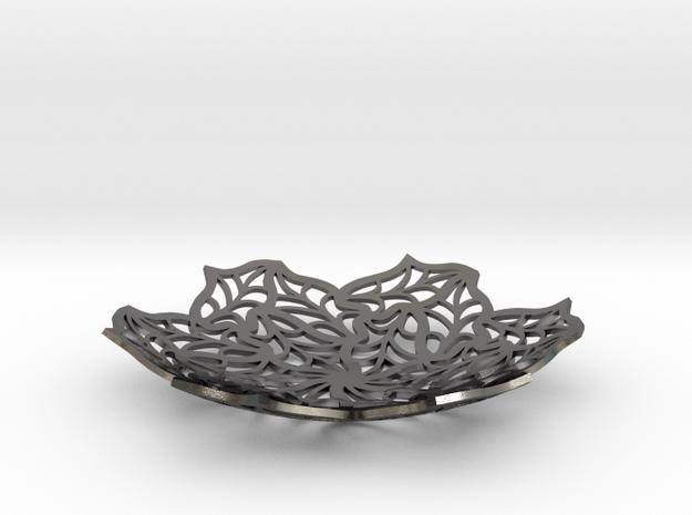 Bon Bon Dish - 5.4 inch in Polished Nickel Steel