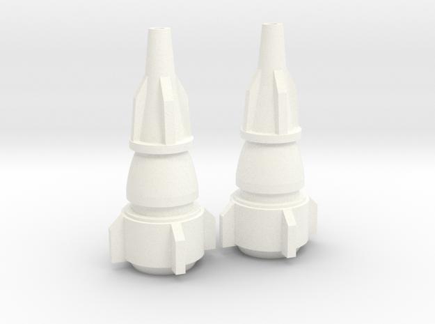 Maketoys Wrestle Arm Toy X2 in White Processed Versatile Plastic