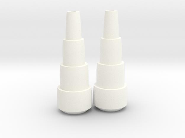 Maketoys Wrestle Arm Toon X2 in White Processed Versatile Plastic