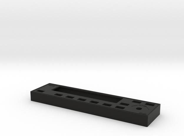 Bendix/King KAP 140 Autopilot Faceplate in Black Natural Versatile Plastic