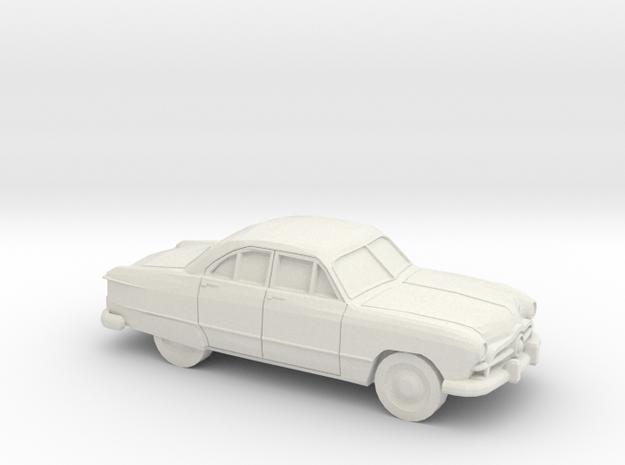 1/87 1949 Ford  Fordor Sedan in White Natural Versatile Plastic