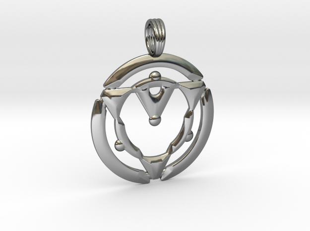 TRINITY HORIZON in Premium Silver