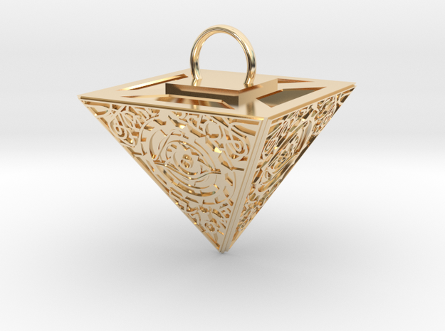Eye of Providence in 14K Yellow Gold
