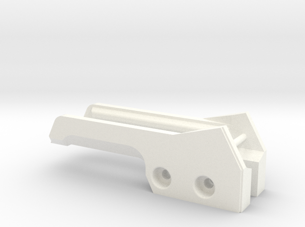 USP Locks in White Strong & Flexible Polished