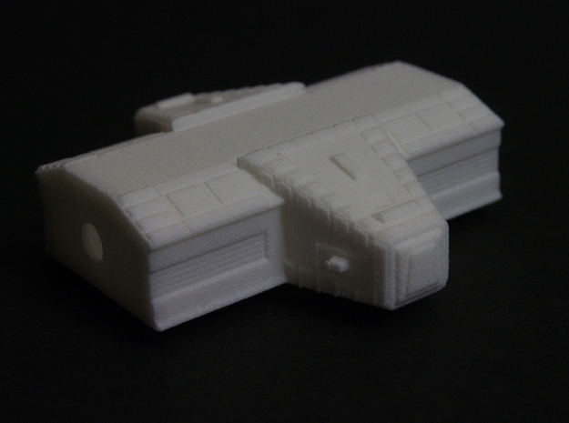 Spacer1999 Eagle Lab Pod 5in Corrected in White Strong & Flexible