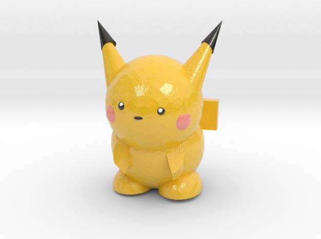 Pikachu in Coated Full Color Sandstone