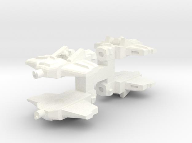 Fast Skimmer in White Processed Versatile Plastic