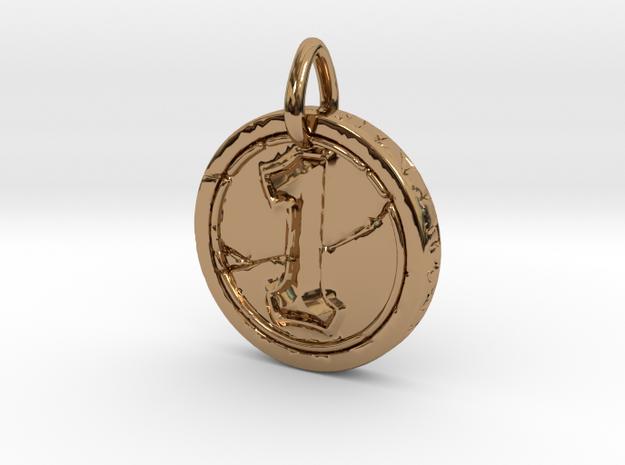 Hearth Stone Coin Pendant