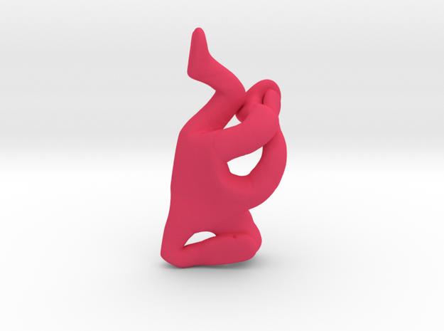 Elbow Freeze    in Pink Processed Versatile Plastic