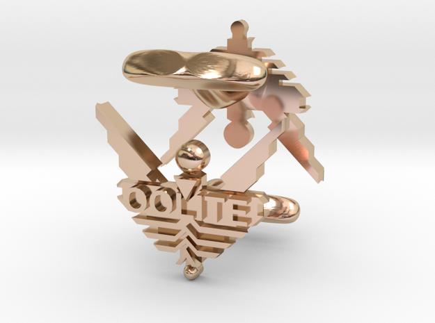 Oolite Cufflinks 3d printed