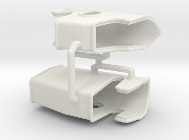 Custom order 1 pair in White Natural Versatile Plastic