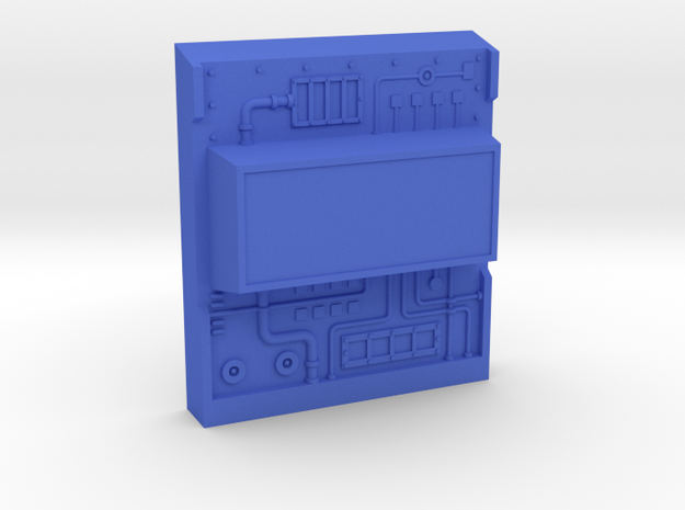 M.A.S.K. Ramp-Up controlpanel (12 of 15) in Blue Processed Versatile Plastic