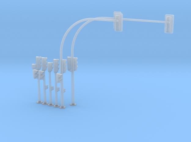 Semáforo-bajo-SET-5-VAR-proto-01 in Smooth Fine Detail Plastic