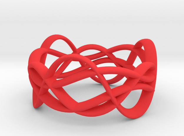 Rollercoaster in Red Strong & Flexible Polished