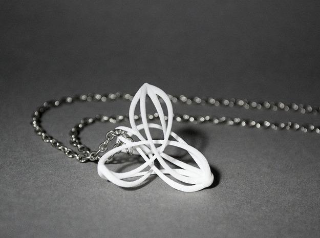 Triquetra Triskele Pendant 3d printed