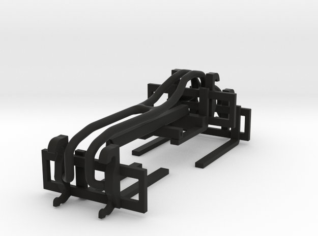1/64 Wheel Loader Pallet Fork and Boom Attachments