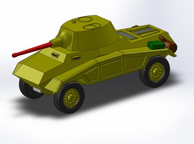 Le Panzerspähwagen 4-Rad Kanone 1/285 6mm