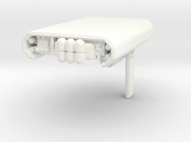 Journey spaceship in White Processed Versatile Plastic