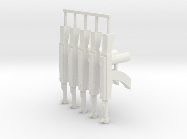 Elite AK-47 Pack in White Strong & Flexible