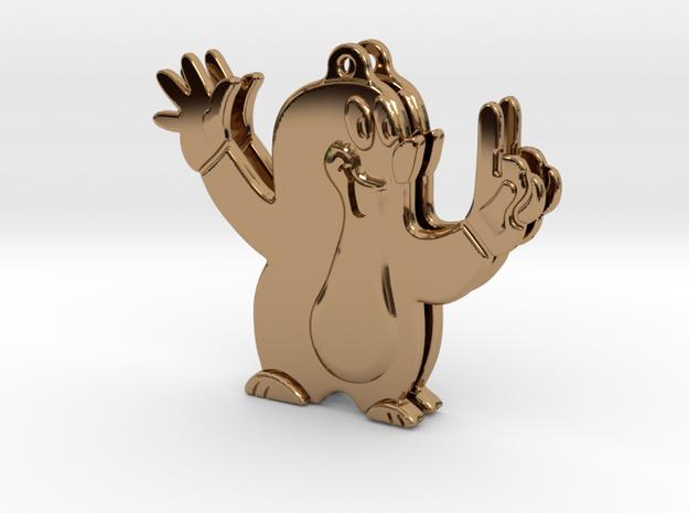 """""""Little Mole"""" Earrings - """"kleiner Maulwurf"""" Ohrrin 3d printed"""