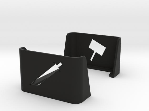 Munchkin Door and Treasure Single Tray in Black Strong & Flexible