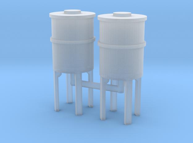 N scale precast concrete tank in Smooth Fine Detail Plastic