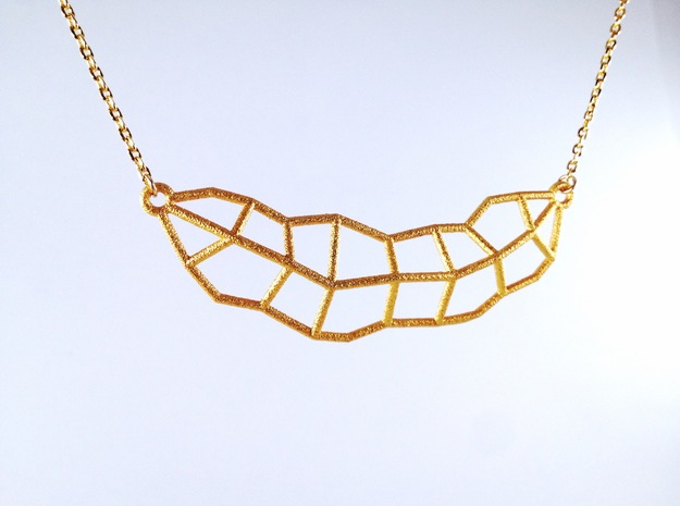 Leaf Necklace Mini 3d printed