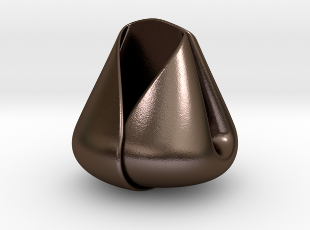 Fortune Cookie - Factory made style 3d printed