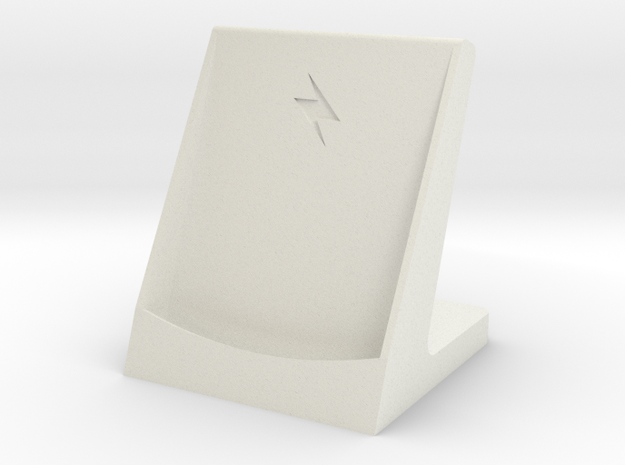 Nexus 5 wireless charging dock in White Natural Versatile Plastic