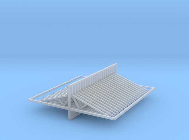 20 Trusses 20ft X4ft Z Scale in Smooth Fine Detail Plastic