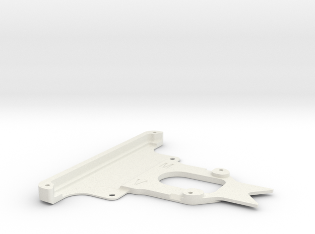 Kyosho Miniz F1 015 front bumper in White Natural Versatile Plastic