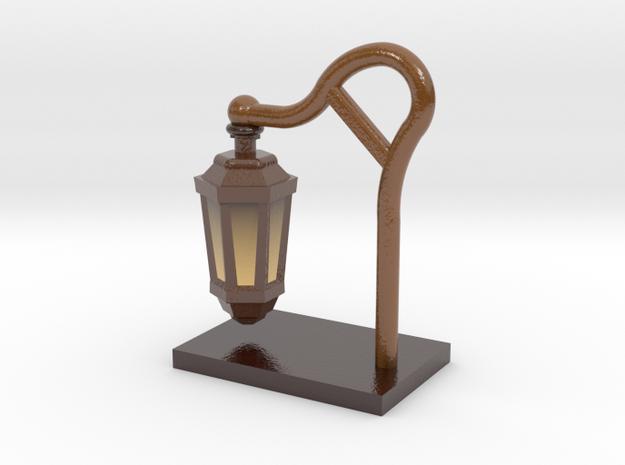 Desk Lamp in Glossy Full Color Sandstone