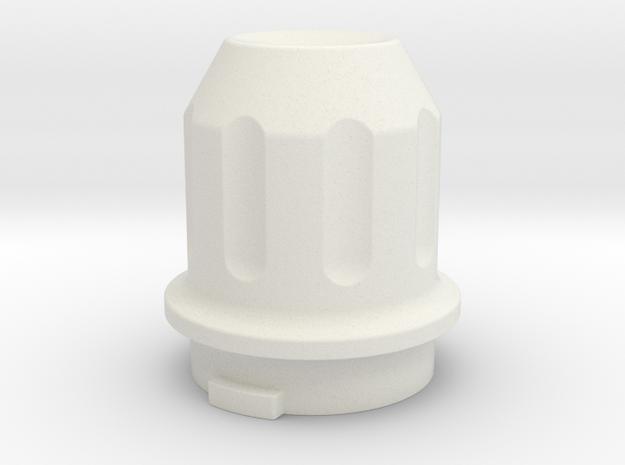 0047 - Dyna Storm E2 Clutch Cover in White Natural Versatile Plastic
