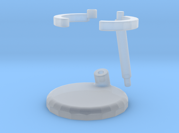 StandShapeways in Smooth Fine Detail Plastic