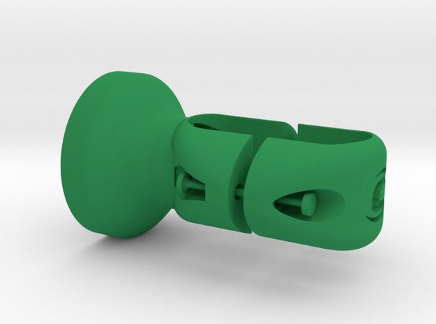 Garmin Edge|Varia / Cannondale Slice RS Mount in Green Processed Versatile Plastic