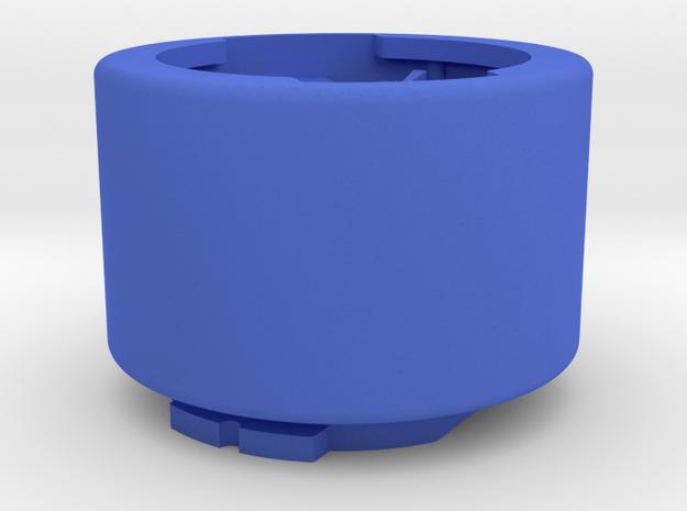 Garmin Tall Quarter-Turn To Eighth-turn Adapter in Blue Processed Versatile Plastic