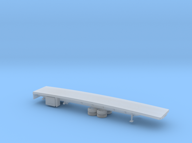 1/120 Spread  Flatbed Trailer in Frosted Ultra Detail