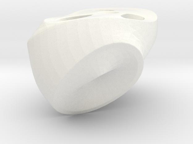 Beast Dancer Pelvis in White Processed Versatile Plastic