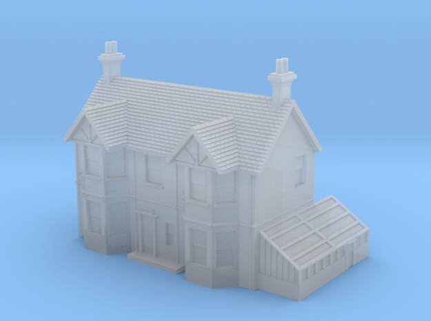 1:350 Scale English Farmhouse in Smooth Fine Detail Plastic