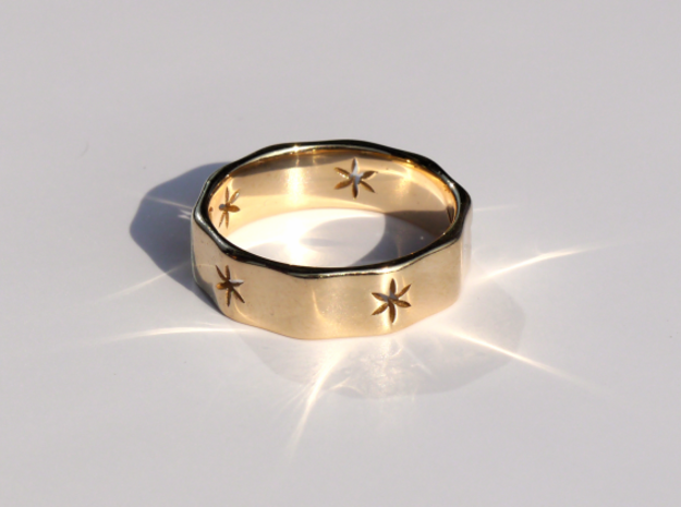 Natural Decagon Ring
