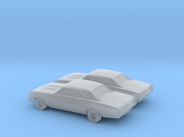 1/200 2X 1967 Chevrolet Chevelle