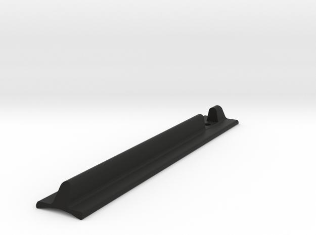 Custom T-Track Grip in Black Natural Versatile Plastic