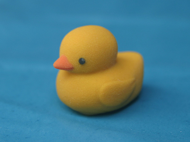 Yellow Duck 3d printed